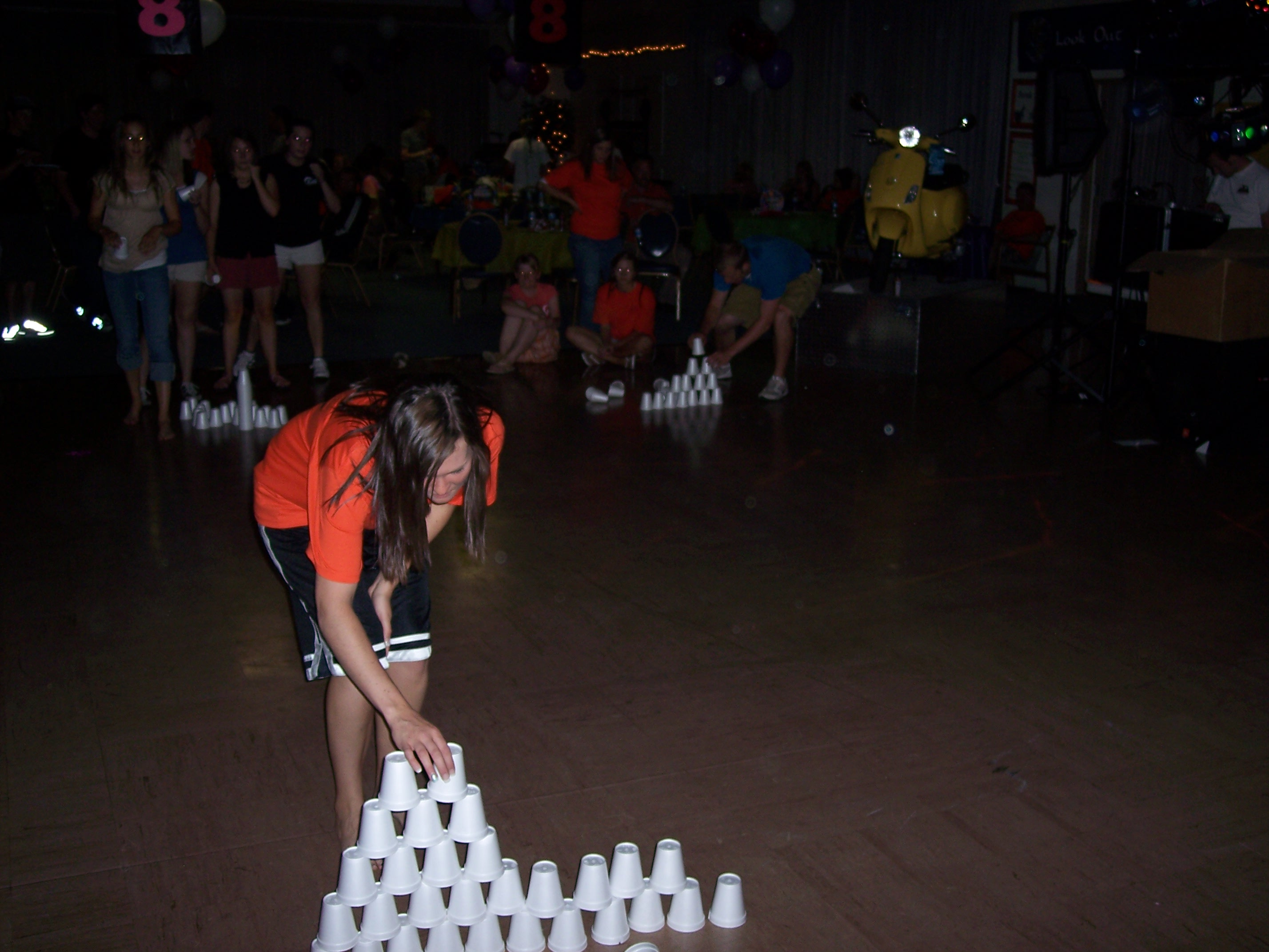 Pyramid Relay Race Senior Party A&B Productions